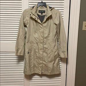 Eddie Bauer long Rain jacket